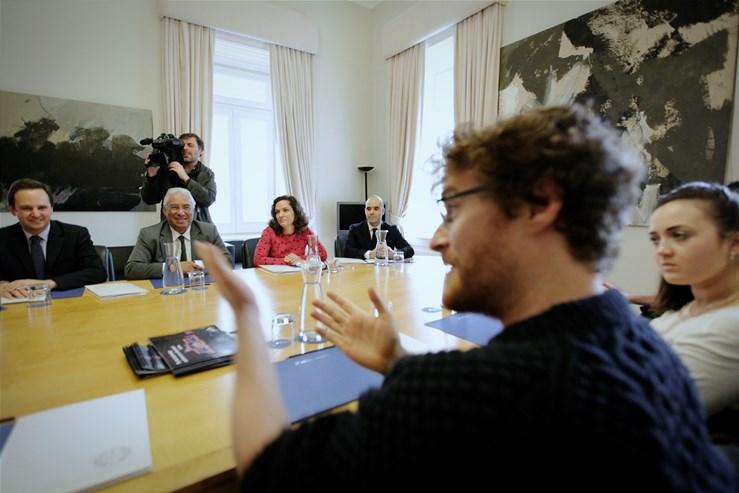 António Costa recebeu a 22 de Janeiro Paddy Cosgrave, o fundador da Web Summit, o maior evento de tecnologia e inovação da Europa que, este ano, será realizada pela primeira vez em Lisboa.