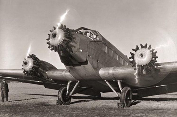 Os Junkers JU utilizavam motores da marca.