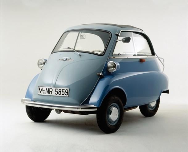 Isetta de meados dos anos 50.