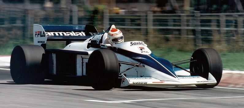 Aposta na F1 dos anos 80.