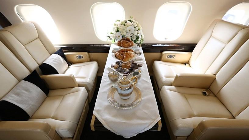 Descubra como voam os magnatas asiáticos