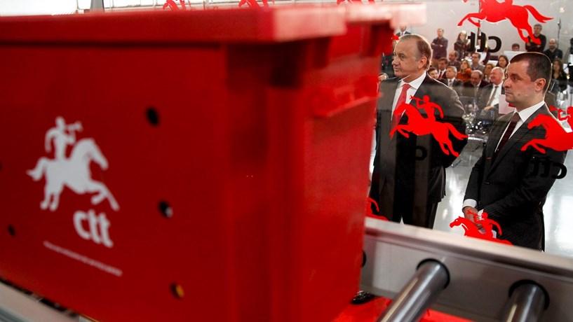 Revisão das estimativas já tirou 152 milhões de euros aos CTT