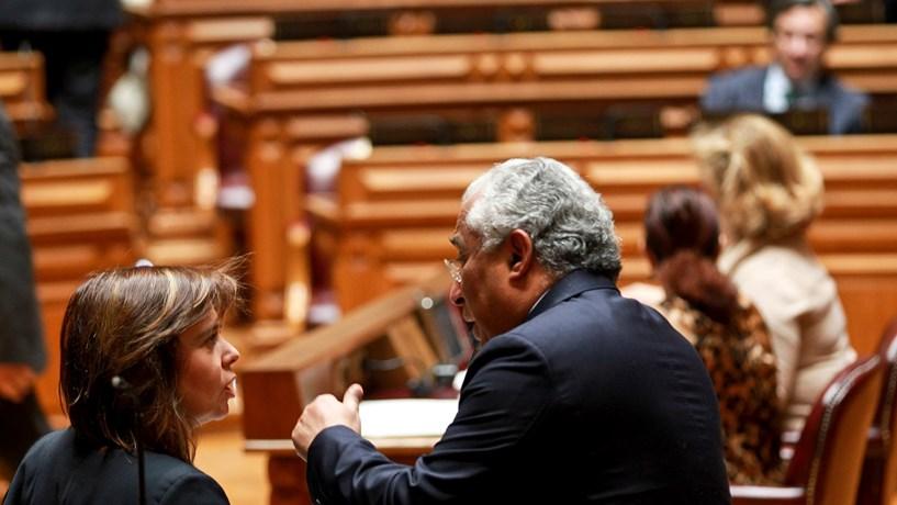 António Costa reuniu-se com BE e PCP para ultimar Orçamento do Estado