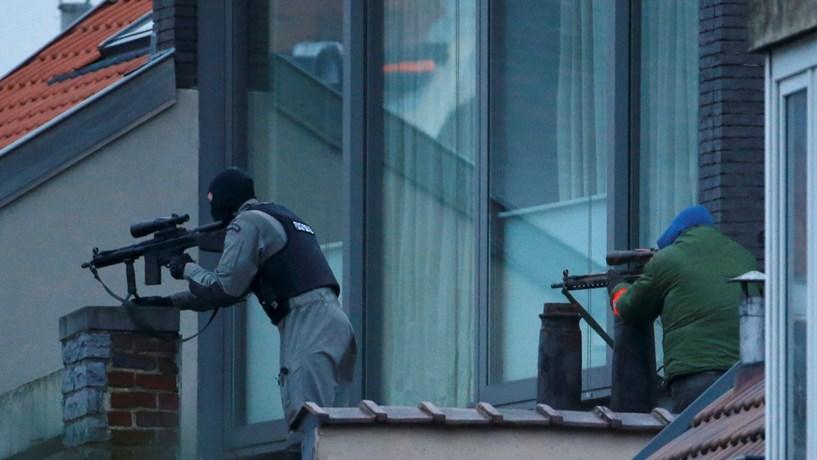Polícia belga detém suspeito após operação antiterrorista