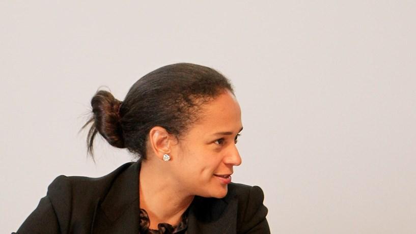 Isabel dos Santos diz ter sido apanhada de surpresa