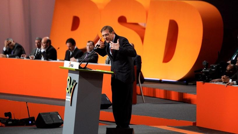 Passos Coelho diz que houve elogio do PSD a Marcelo e não amuo