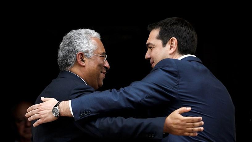 Costa e Tsipras juntos contra a austeridade na Europa