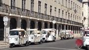 Dezenas de 'tuk tuk' à 'borla' este domingo em Lisboa
