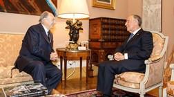 Presidente da República condecora príncipe Aga Khan com a Grã-Cruz da Ordem da Liberdade