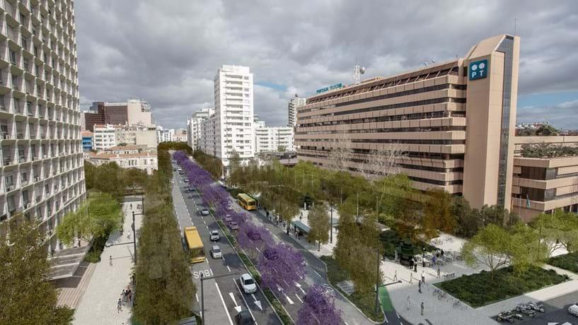Temperatura em Lisboa pode cair três graus no Verão com obras no Eixo Central