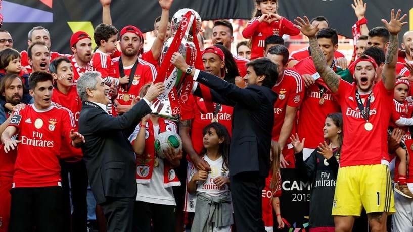 Benfica lidera crescimento dos lucros entre os campeões europeus