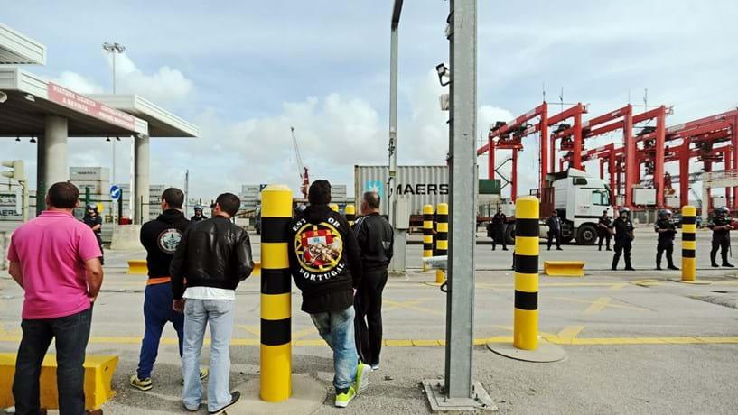ANTRAM repudia actos hostis contra motoristas no porto de Lisboa