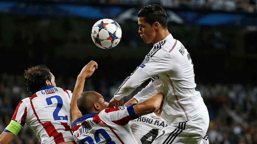 Real Madrid joga contra Atlético de Madrid nas meias-finais da Champions