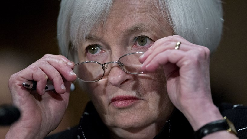 "Janet Yellen: ""Mais cedo ou mais tarde haverá riscos de optimismo excessivo"""