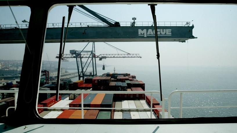 Portos portugueses com recorde de carga movimentada até Novembro