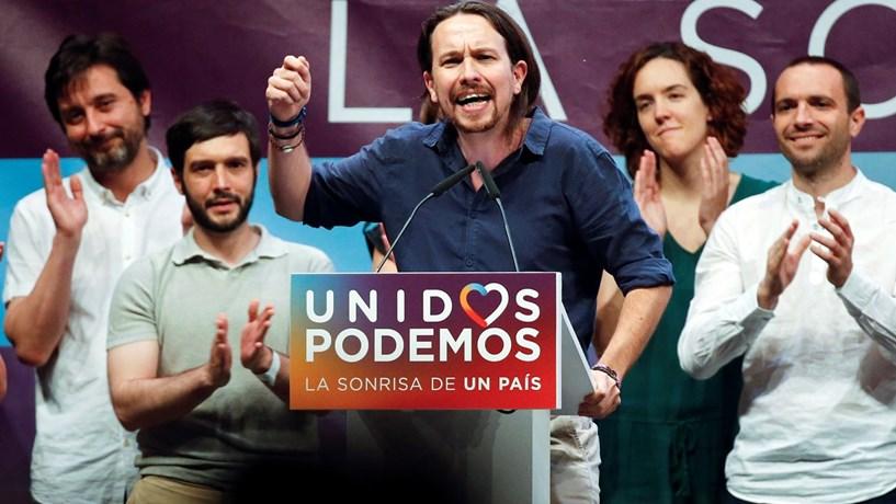"""Podemos: Decisão do PSOE mostra """"fim da alternância"""" e cria """"Grande Coligação"""""""