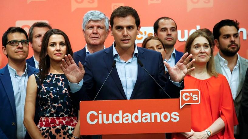 Espanhóis não merecem mais bloqueio político, afirma líder do Ciudadanos