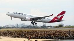 Passageiros preparam-se para voo de 20 horas entre Nova Iorque e Sydney