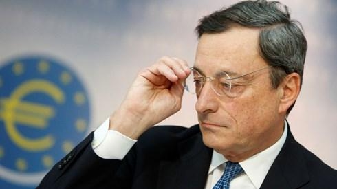 Draghi deixa bolsas e euro no vermelho