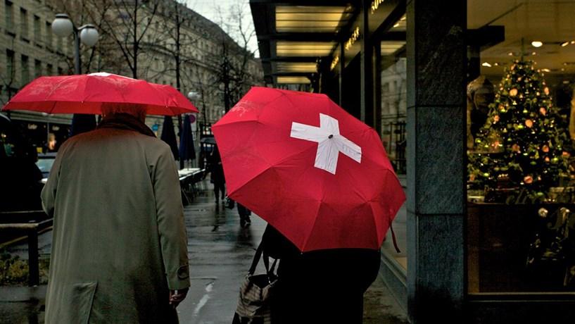 Economia suíça estagnou no terceiro trimestre