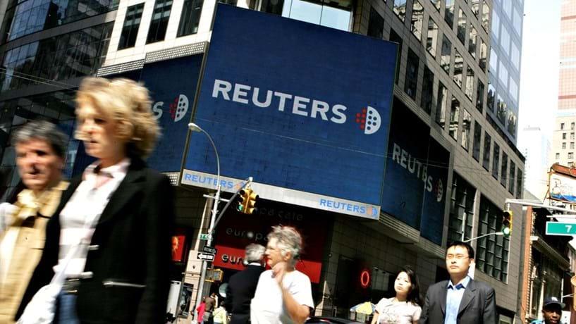 Thomson Reuters vai eliminar 2.000 postos de trabalho