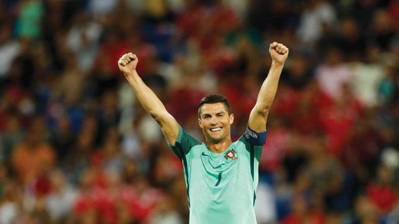 Ronaldo com valor potencial de marca de 102 milhões