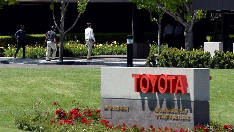 Toyota chama às oficinas 543 mil veículos nos EUA devido a falha nos airbags