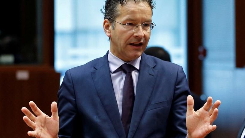 Dijsselbloem não quer Londres como centro financeiro para a Zona Euro