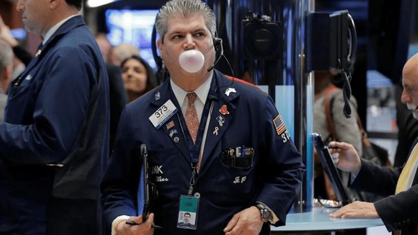 Ganhos do petróleo dão sinal mais a Wall Street