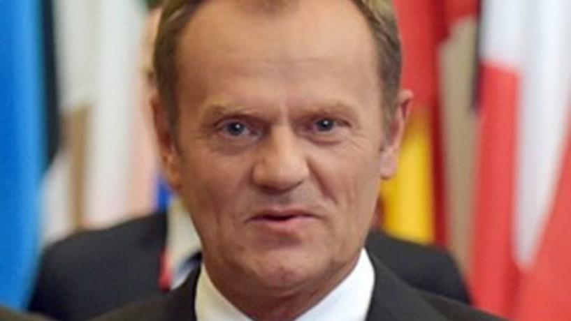 Tusk reeleito presidente da UE com voto contra do seu país