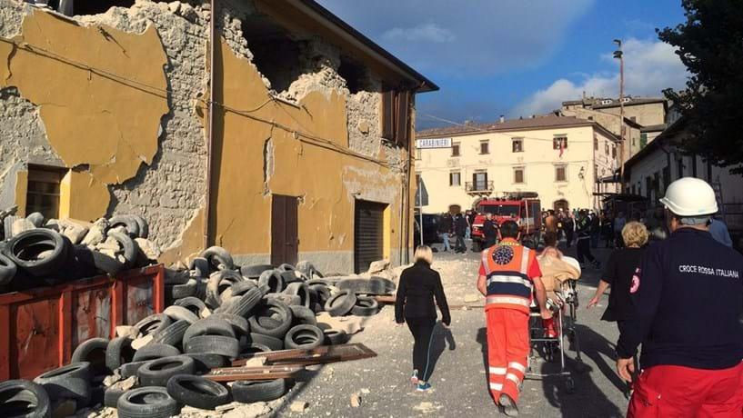 Sismos sucedem-se no centro de Itália
