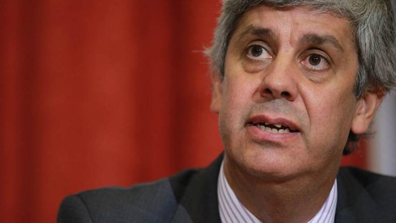 """Centeno diz que Eurogrupo teve posição """"construtiva"""" sobre Orçamento"""