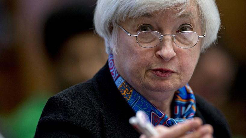 """Yellen quer levar mandato até ao fim e anuncia subida dos juros para """"breve"""""""