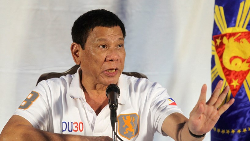 Duterte quer abrir economia das Filipinas ao mundo