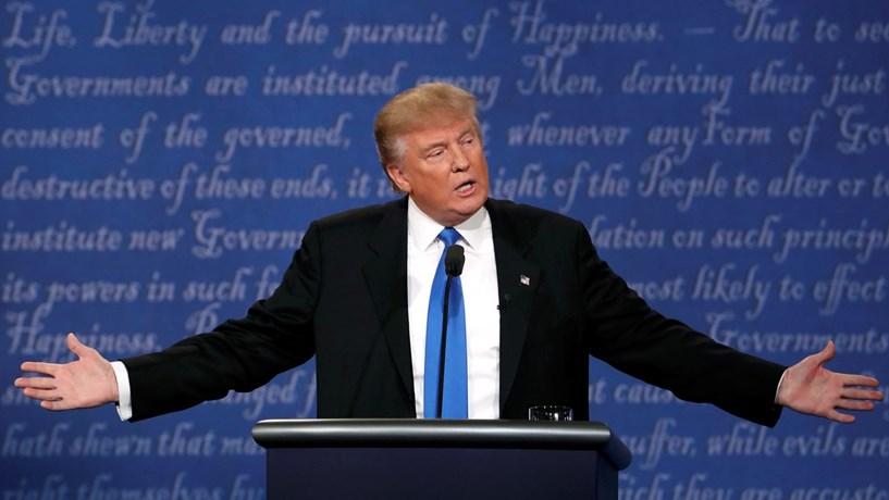 """Trump acredita na reeleição e já pediu registo de slogan para 2020: """"Manter a América grande"""""""
