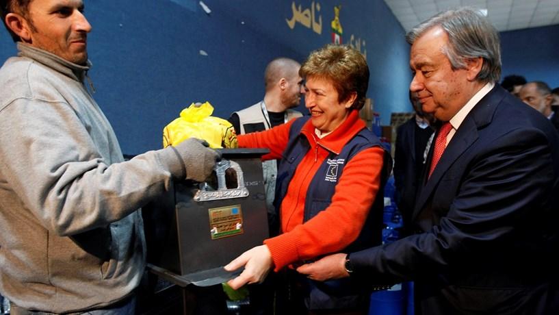 Kristalina Georgieva felicita Guterres e deseja-lhe boa sorte