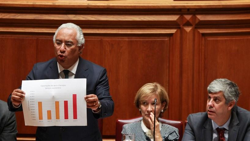 """António Costa só diz para já que haverá """"aumento justo"""" das pensões"""