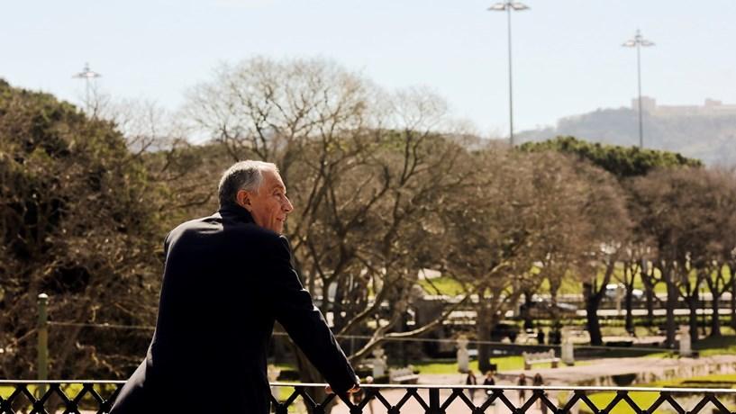 Marcelo encontra-se em Londres com financeiros e primeira-ministra
