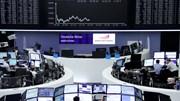 Bolsas europeias em queda e dólar recua de máximos