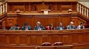 Centeno no Parlamento:
