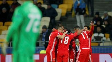 Casas de apostas dão favoritismo ao Benfica frente ao Nápoles