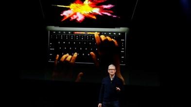Novo MacBook Pro da Apple tem barra de ecrã táctil