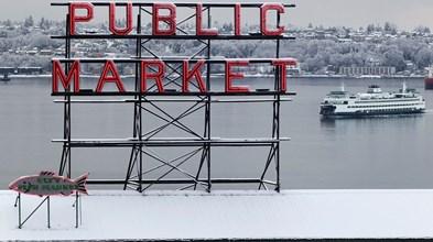 Seattle, peixe e política