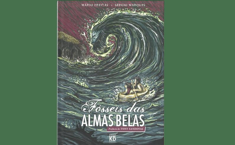 """Melhor Argumento para Álbum Português: Mário Freitas em """"Fósseis das alma belas"""" (Editora Kingpin Books)."""