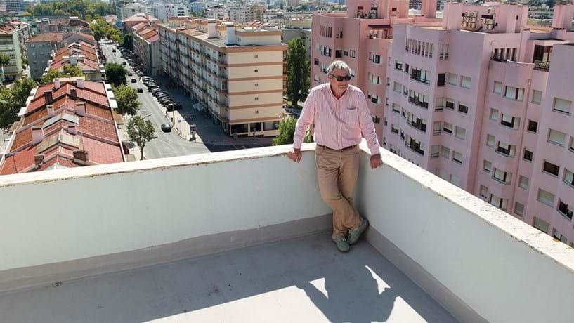 Laurent Maugé é construtor civil. Está a investir no centro histórico de Setúbal. Já vendeu duas casas a franceses.