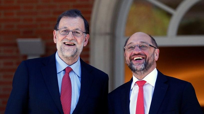 Schulz reitera oposição à aplicação de sanções a Portugal e Espanha