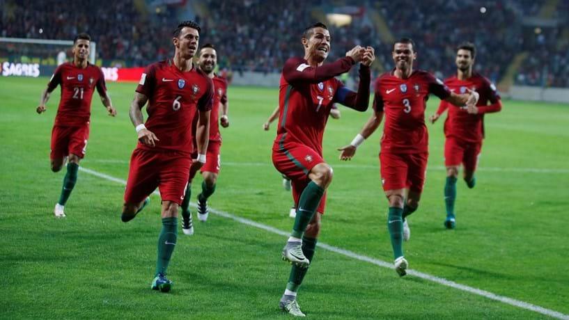Mundial 2018: Portugal bate Andorra por 6-0 com quatro golos de Ronaldo