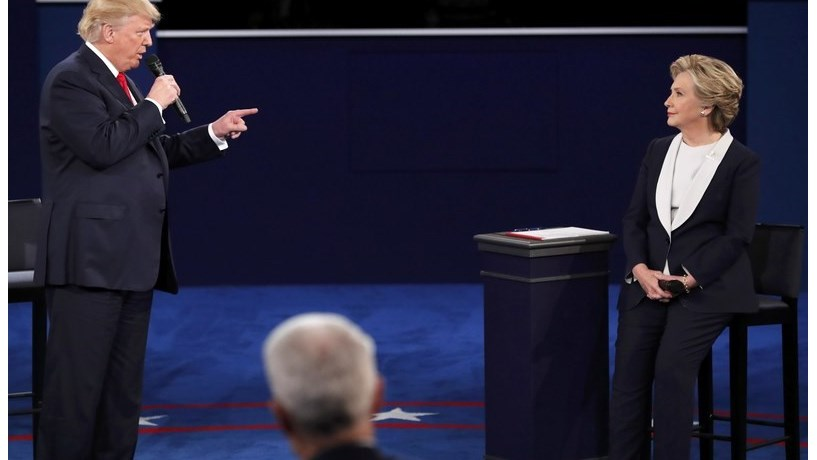 Clinton vs. Trump II: sondagens dão a vitória à democrata