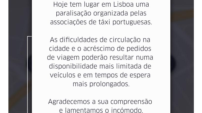 Aplicação Uber