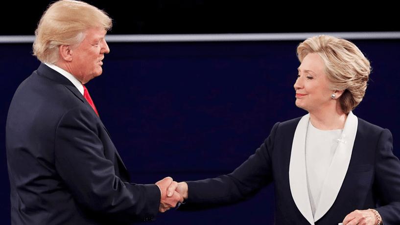 """Trump reconsidera investigação a Clinton porque não quer """"prejudicá-la"""""""